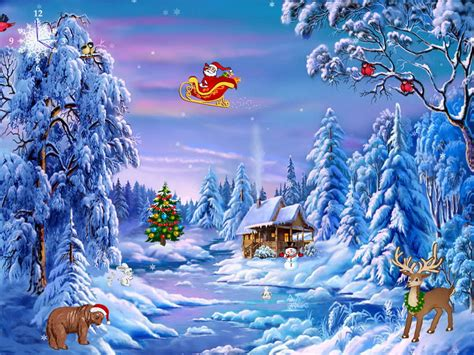 christmas wallpaper and screensavers christmas symphony free windows 8 screensavers download