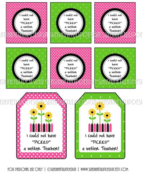 printable teacher s day gift tags printable teacher appreciation gift tags i could not have