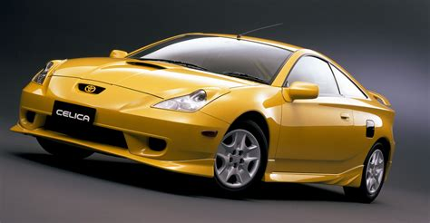 toyota in golden toyota celica in stunning hd hd wallpapers
