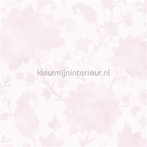 gordijnen kinderkamer pastel blend in flowers pastel roze 363041 behang blend