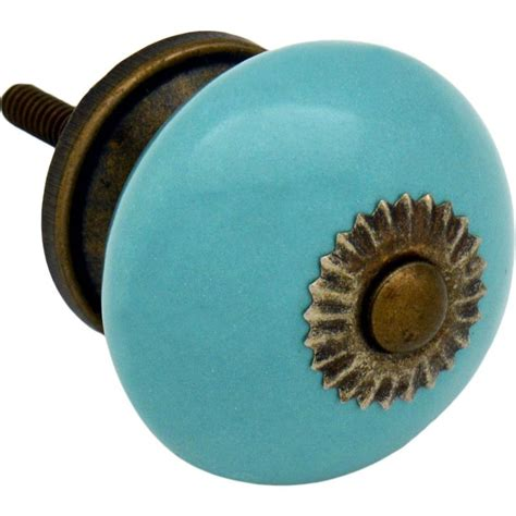 Turquoise Door Knobs by Ceramic Door Knob And Handle Turquoise