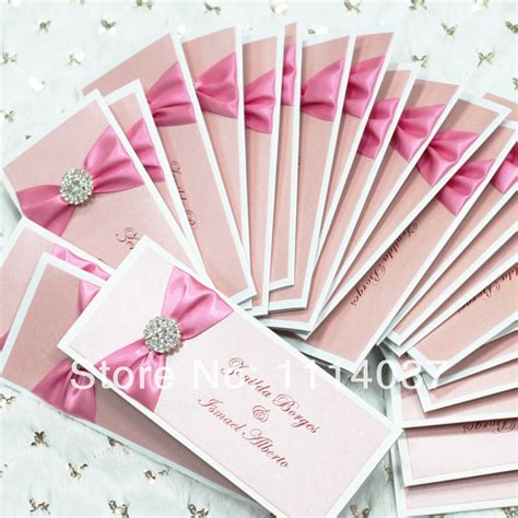 Handmade Ribbon - handmade ribbon and buckle wedding card designs in