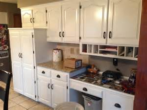 photos refinished cabinets