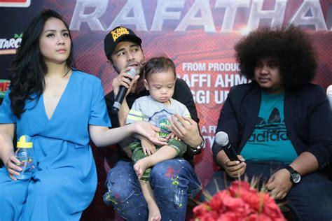 film tersedih tentang keluarga raffi ahmad buatkan film sebagai pengingat saat rafathar