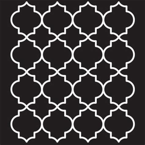 folkart moroccan tile painting stencils 4377 the home depot