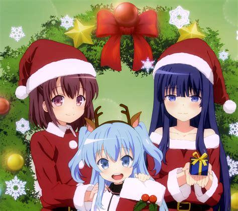 christmas  anime wallpapers