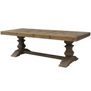 Castle Dining Table Castle Dining Trestle Table 98 Quot Zin Home
