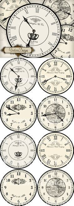 free printable clock labels 78 best images about 3d decoupage sheets and printables on
