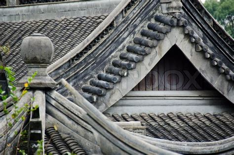 japanese roof pattern japanese roof stock photo colourbox