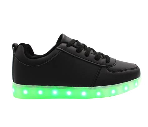 Led Shoes galaxy led shoes light up usb charging low top