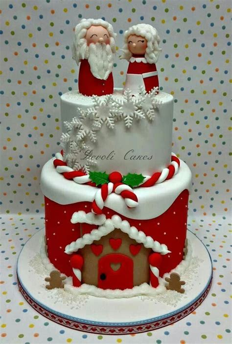 beautiful christmas cake most wonderful time of the year
