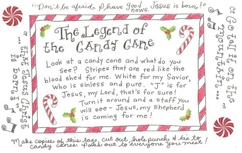 legend   candy cane  printable tag happy