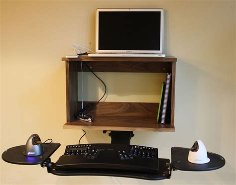 wall mount laptop desk brown mahogany wall laptop desk how to buy desks wall mounted folding