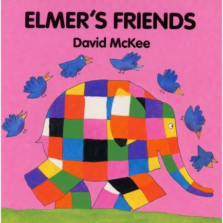 libro elmers christmas board book elmer s friends english wooks