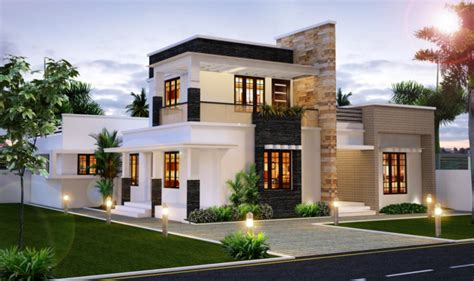 Home Design Blogs 2016 | elegant sophisticate house designed by kerala home design