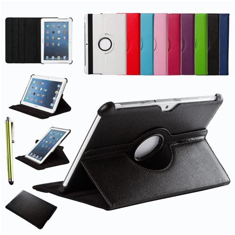 Leathercase Samsung Tab 2 101 Inch P5100 aliexpress buy for samsung galaxy tab 2 10 1 inch p5100 p5110 p7500 p7510 360 rotating
