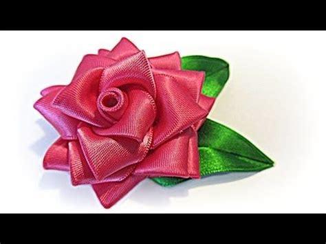 como hacer flores en cinta o liston goshii youtube m 225 s de 1000 ideas sobre flores de organza en pinterest