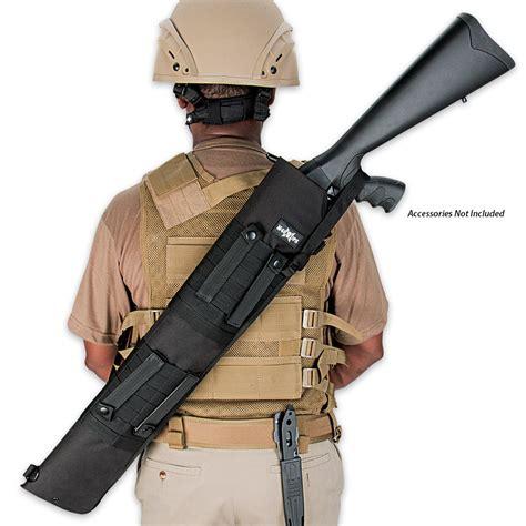 Cool Kitchen Knives m48 ops molle compatible tactical shotgun scabbard black