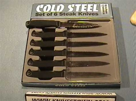 review of cold steel 59ks6z kitchen classic cold steel kitchen classics steak knife set model 59ks6z