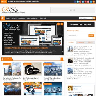 rifqiy premium responsive blogger template ivythemes com
