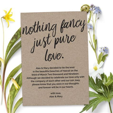 Nothing fancy just pure love wedding elopement