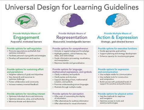 Universal Design Criteria | the udl guidelines youtube autos post