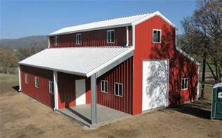 Barn Homes Kits 4 Amazing Metal Building Homes