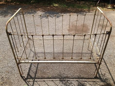 Cast Iron Baby Crib Pin By Teresa Clark On Craigslist Finds