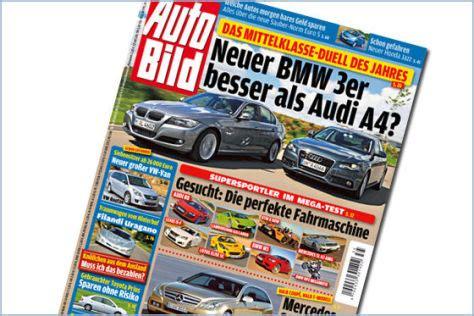 Auto Bild Titel by Bmw 3er Fordert Audi A4 Heraus Autobild De
