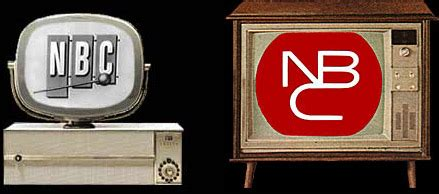 color tv show 1962 nbc abc and cbs logos from the 1950 s and 60 s