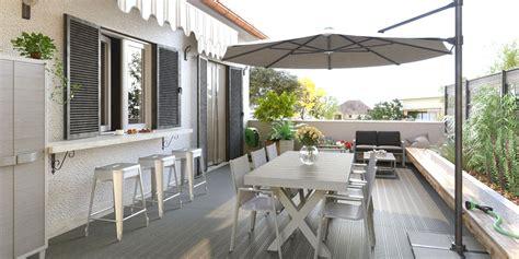 come allestire un terrazzo idee terrazzo fai da te con riciclo creativo idee fai da