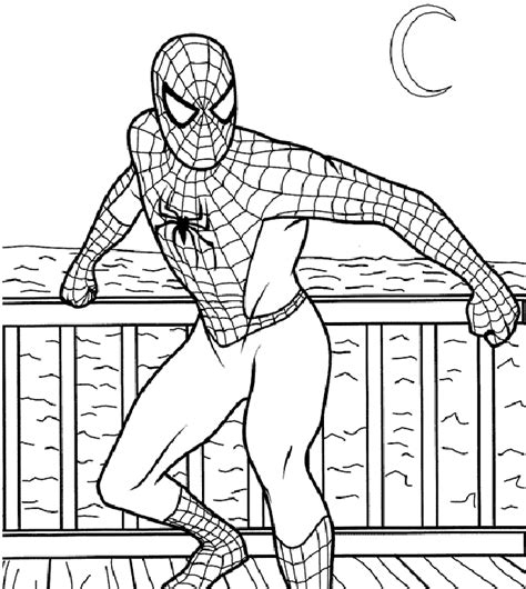Educational Coloring Pages Spiderman | educational coloring pages spiderman coloring pages for free