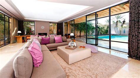 Living Room Pool View Palais Namaskar Marrakech Tensift El Haouz Morocco