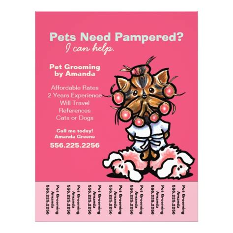 grooming flyers template 87 grooming flyers grooming flyer templates and