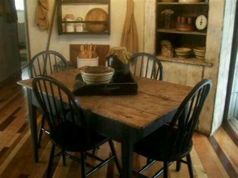 Primitive Dining Room Furniture 450 Best Primitive Kitchens Images On Cottage Kitchens Country Kitchens And