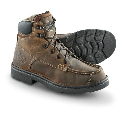 s boot 174 eagle light work boots brown 428207