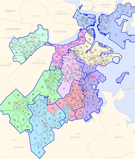 sections of boston demographics of boston districts and neighborhoods 2015