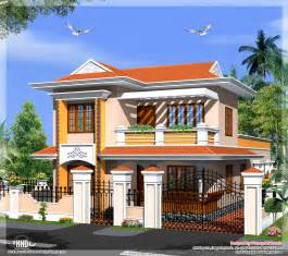 model house plans kerala model villa in 2110 in square feet house design plans