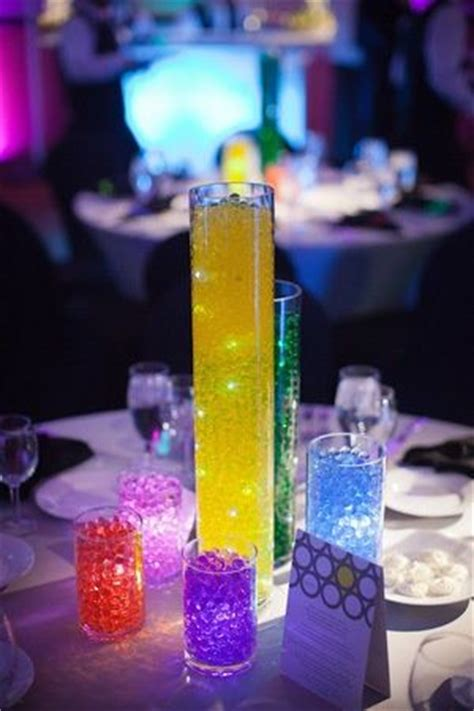 glow in the centerpieces ideas 25 best ideas about bar mitzvah centerpieces on sports themed centerpieces bar