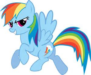 rainbow dash vector standing png file png mart