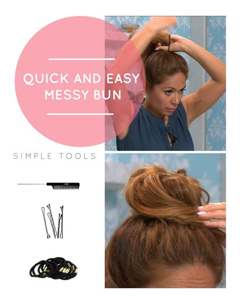pennies messy bun tutorial the perfect messy bun really is as easy as it looks