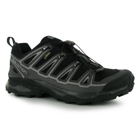salomon mens x ultra gtx walking shoes ortholite insoles