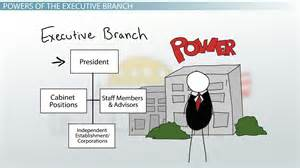 Executive branch of government definition responsibilities amp power