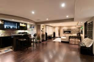 Cheap Kitchen Ideas For Small Kitchens a basement with room to entertain contemporary