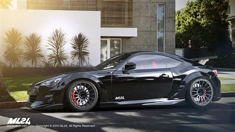 subaru brz black kit ml24 automotive design prototyping and kits
