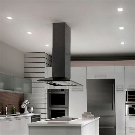 kitchen with wac lighting hr led451tl 4 quot square led