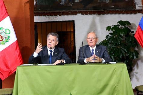 gabinete binacional tercer gabinete binacional entre colombia y per 250 concluy 243