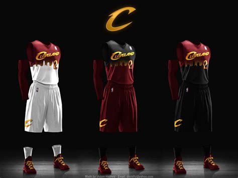 Jersey Design Basketball 2015 Cavs | 5 cleveland cavalier jersey concepts that need to happen