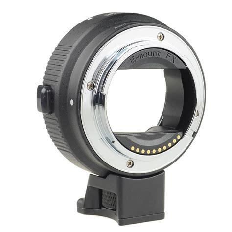 Commlite Adapter Lensa Kamera Canon Eos To Sony Nex Alpha Autofocus jual commlite comix adapter lensa canon ef sony nex e mount af g gadget
