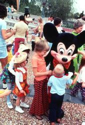 florida memory children meeting mickey mouse at the